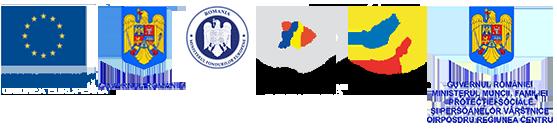 Sigle pentru: Uniunea Europeană, Guvernul României, Fondul Social European, Instrumente Structurale