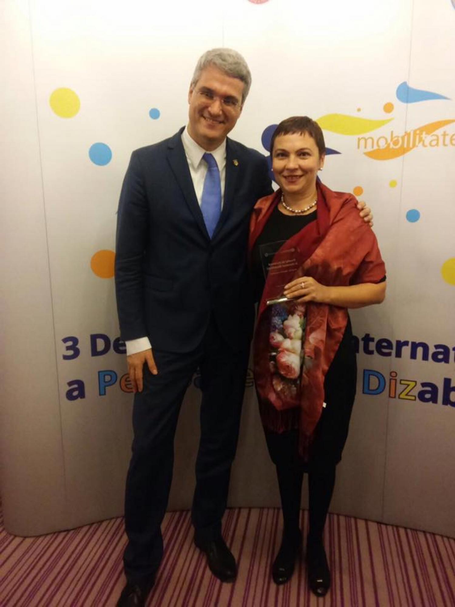 Fundatia Pentru Voi a castigat competitia pentru primul Premiu de Excelenta in domeniul dizabilitatii! - 002